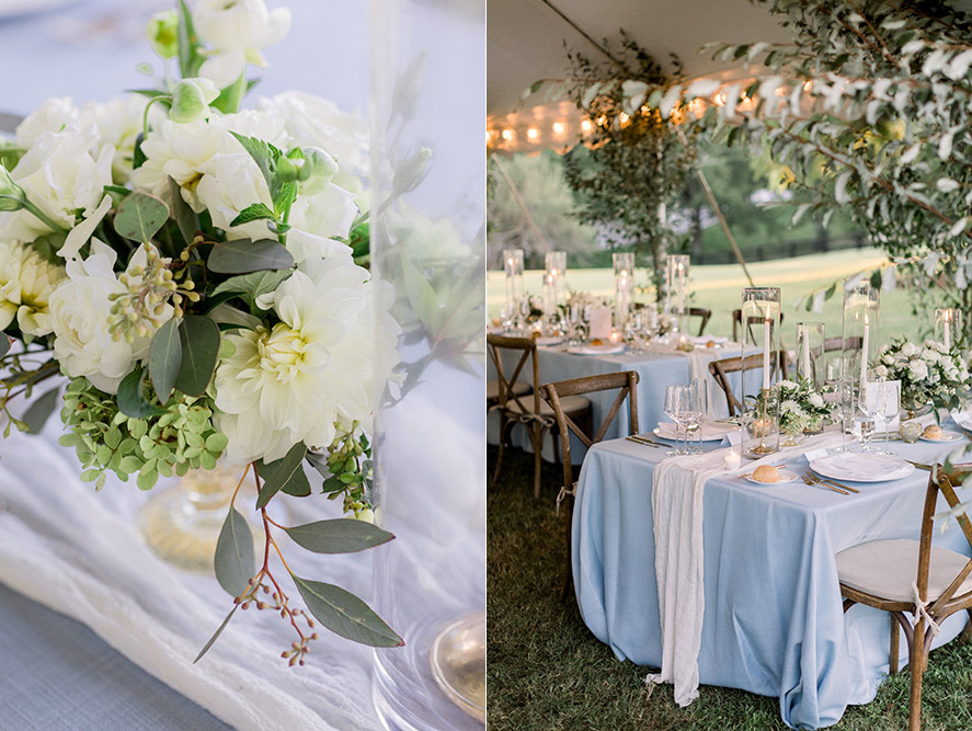 wedding-flowers-outdoor-tent