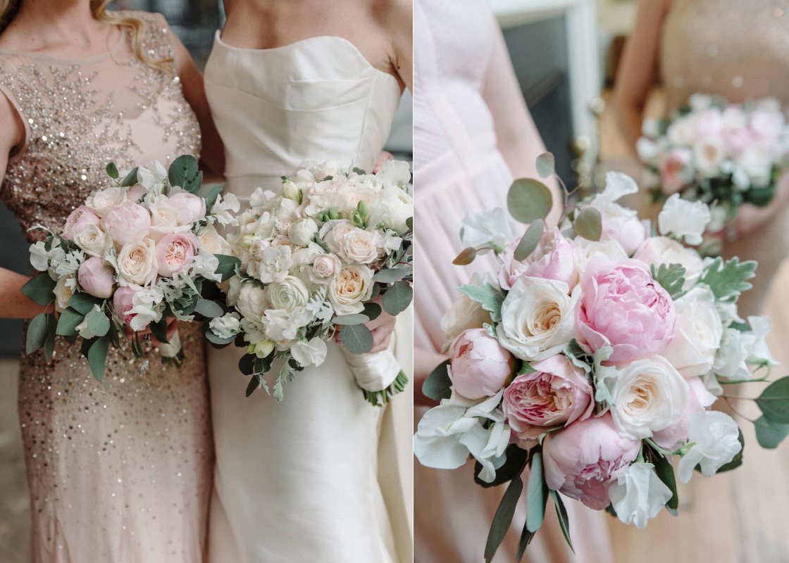 bride-bridesmaids-bouquets